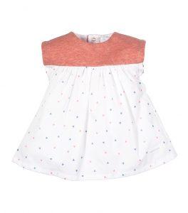 Vestido de niña PVP 33€.