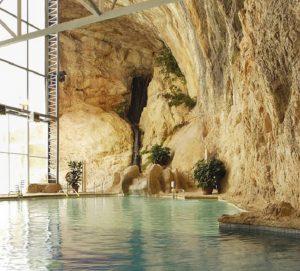 Cueva termal del Balneario Sicilia.