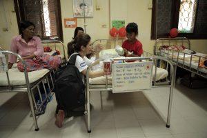 Chicco intenta mejorar la calidad de los niños que participan en el programa y sus familias.