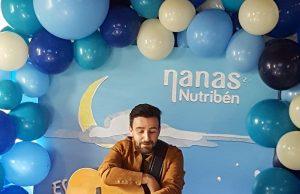 David Cantero, de Funambulista, en la presentación de las Nanas Nutribén.