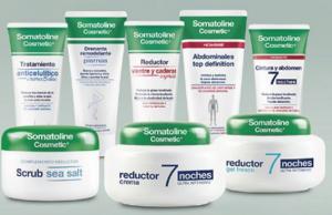 Gama de productos Somatoline Cosmetics.