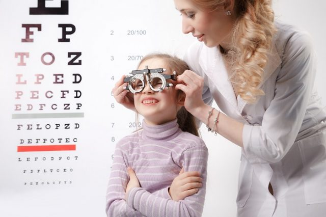 La salud ocular de los peques es importante. Foto: Shutterstock