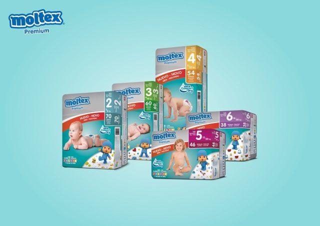 Pañales Moltex Premium.