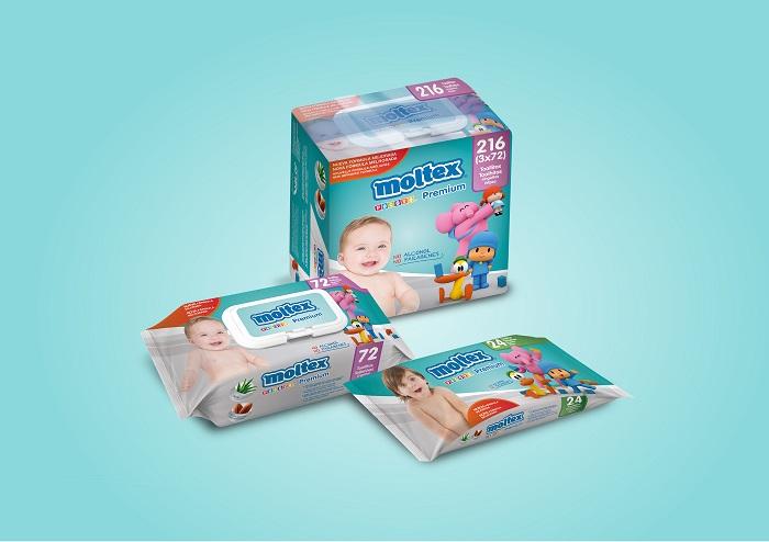 Toallitas Moltex Premium.