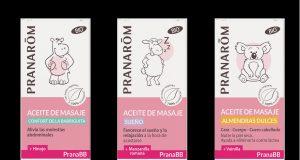 Nuevos aceites de masaje de la gama PranaBB.